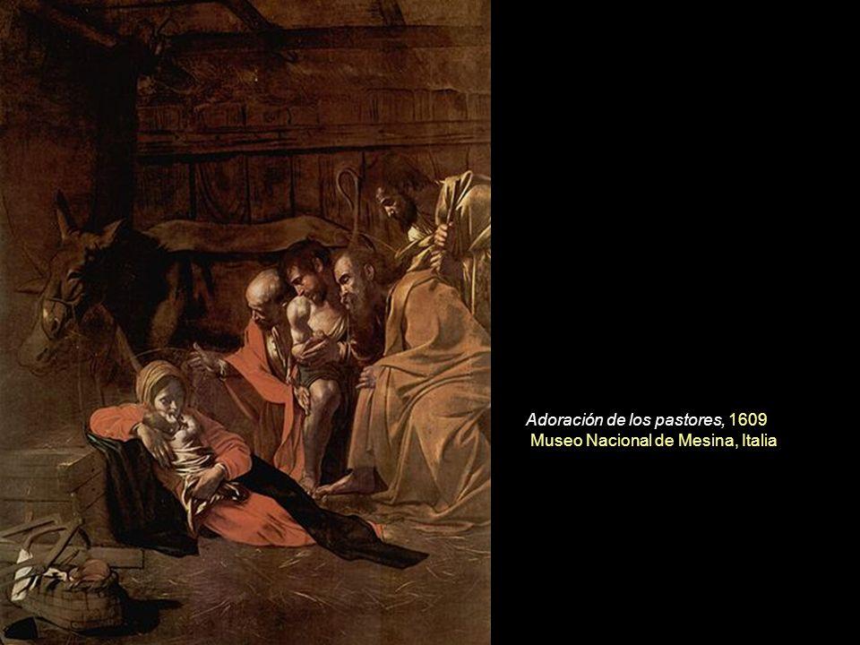 Adoración de los pastores, 1609