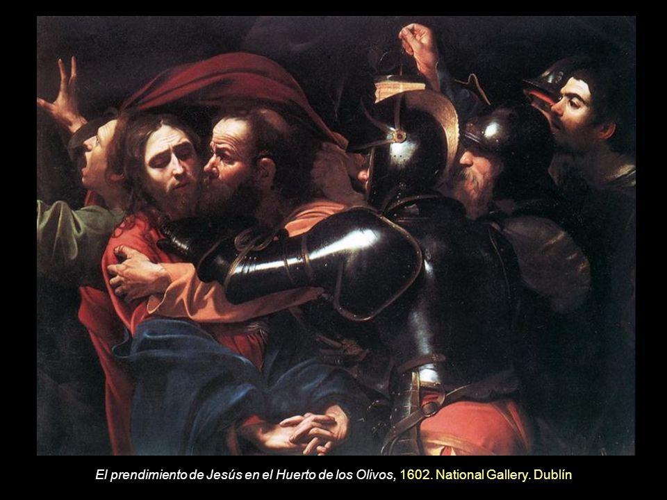 El prendimiento de Jesús en el Huerto de los Olivos, 1602