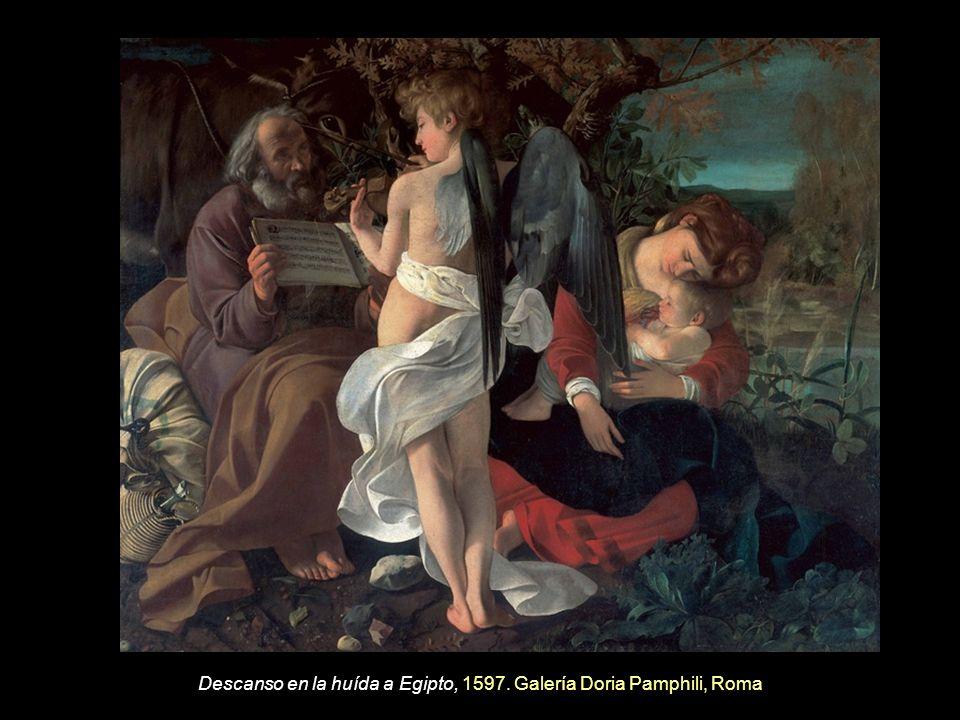 Descanso en la huída a Egipto, 1597. Galería Doria Pamphili, Roma