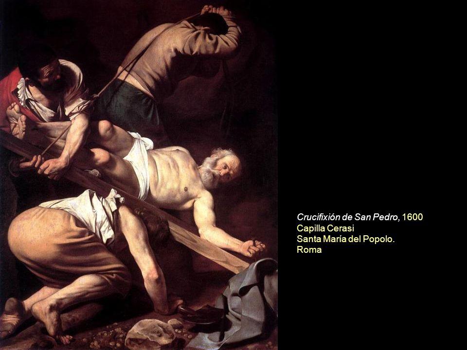 Crucifixión de San Pedro, 1600