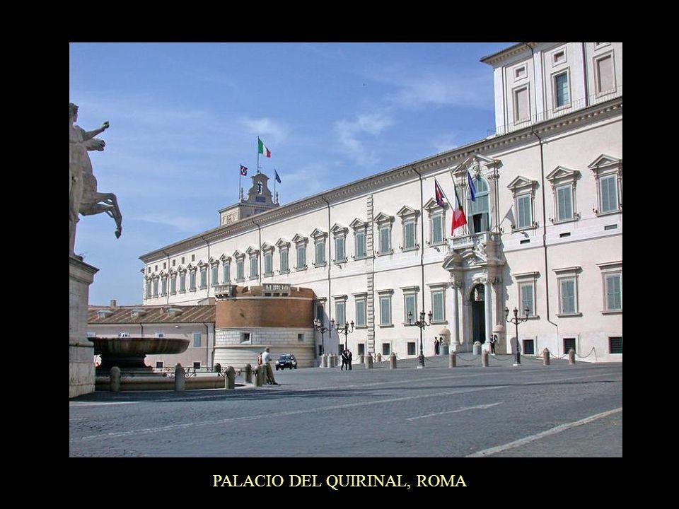 PALACIO DEL QUIRINAL, ROMA