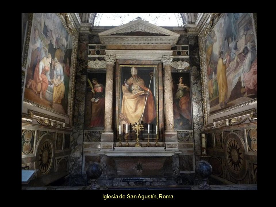 Iglesia de San Agustín, Roma