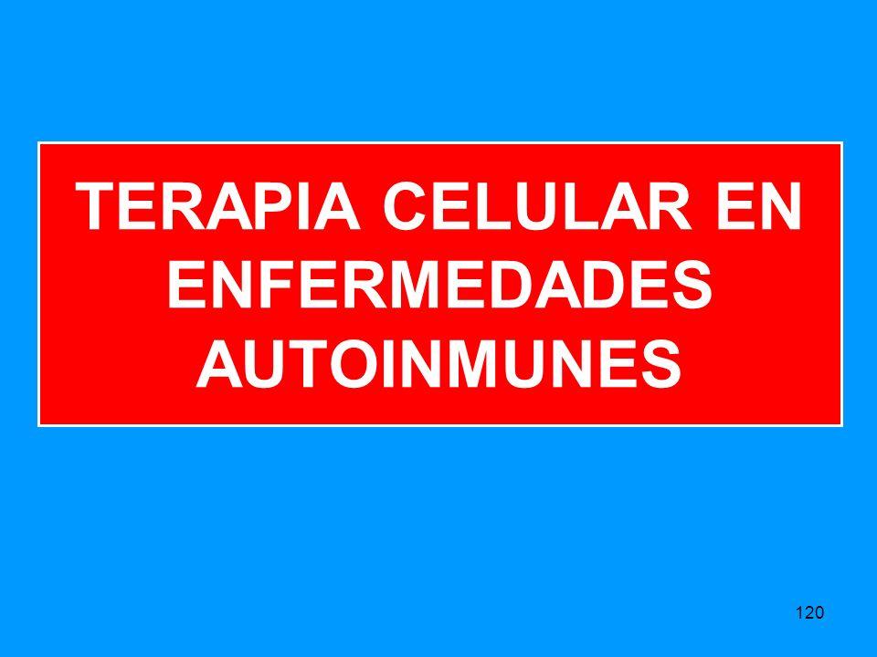 TERAPIA CELULAR EN ENFERMEDADES AUTOINMUNES