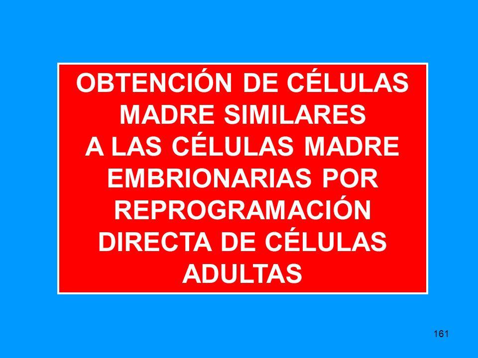 OBTENCIÓN DE CÉLULAS MADRE SIMILARES