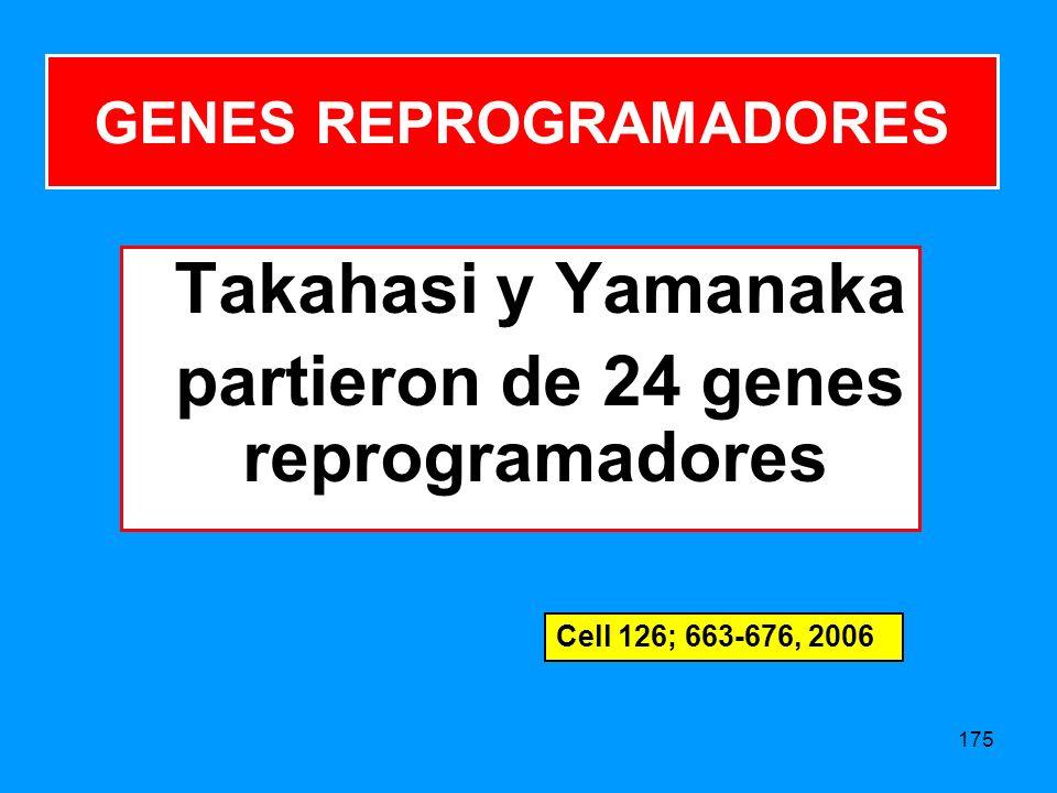 GENES REPROGRAMADORES