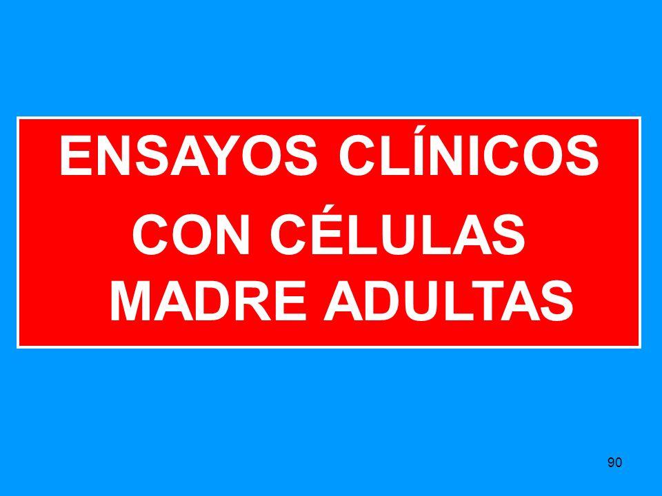 CON CÉLULAS MADRE ADULTAS