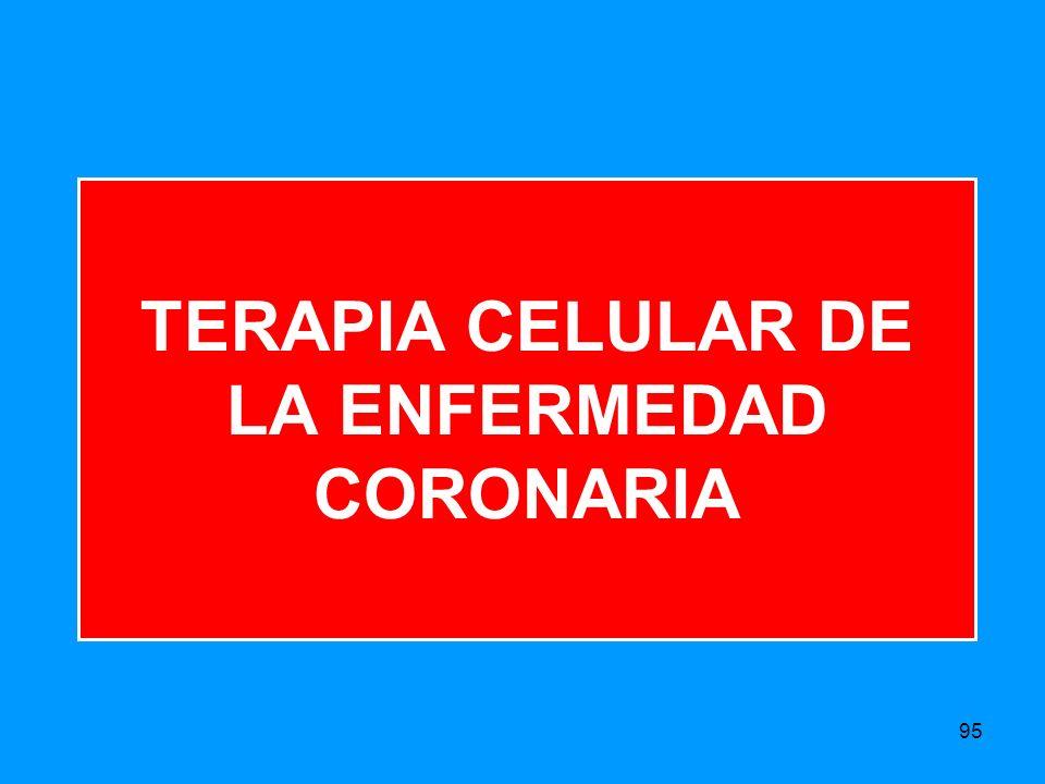 TERAPIA CELULAR DE LA ENFERMEDAD CORONARIA