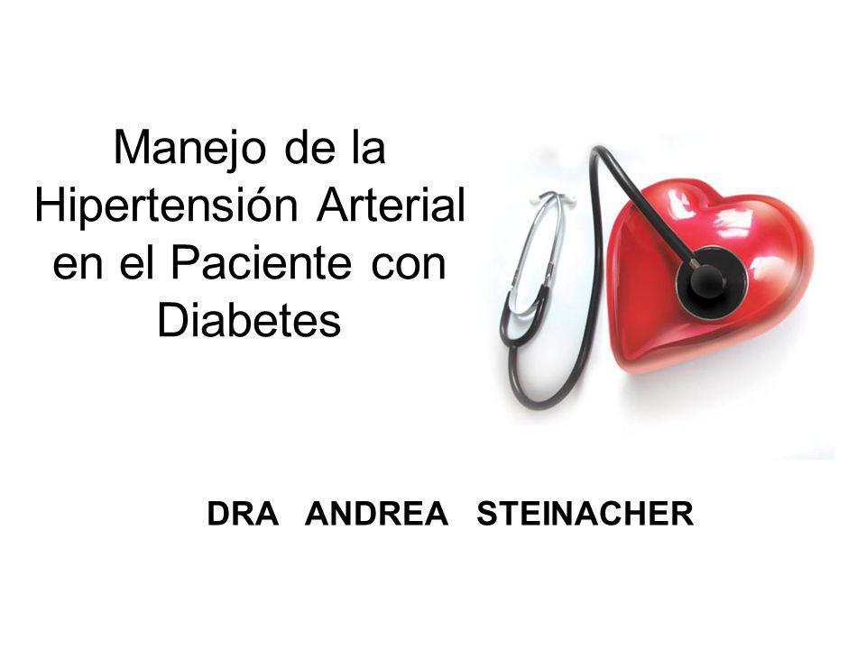 Manejo de la Hipertensión Arterial en el Paciente con Diabetes