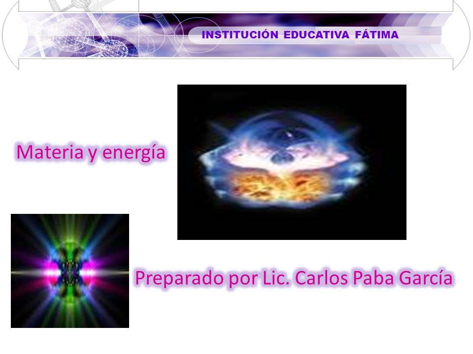 Preparado por Lic. Carlos Paba García