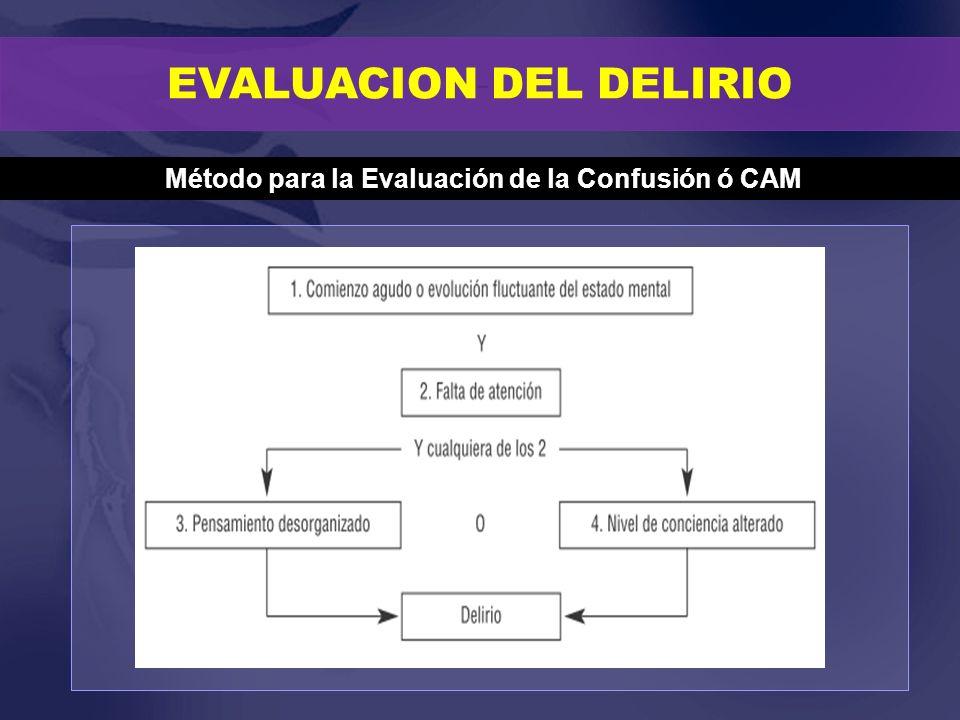 Método para la Evaluación de la Confusión ó CAM