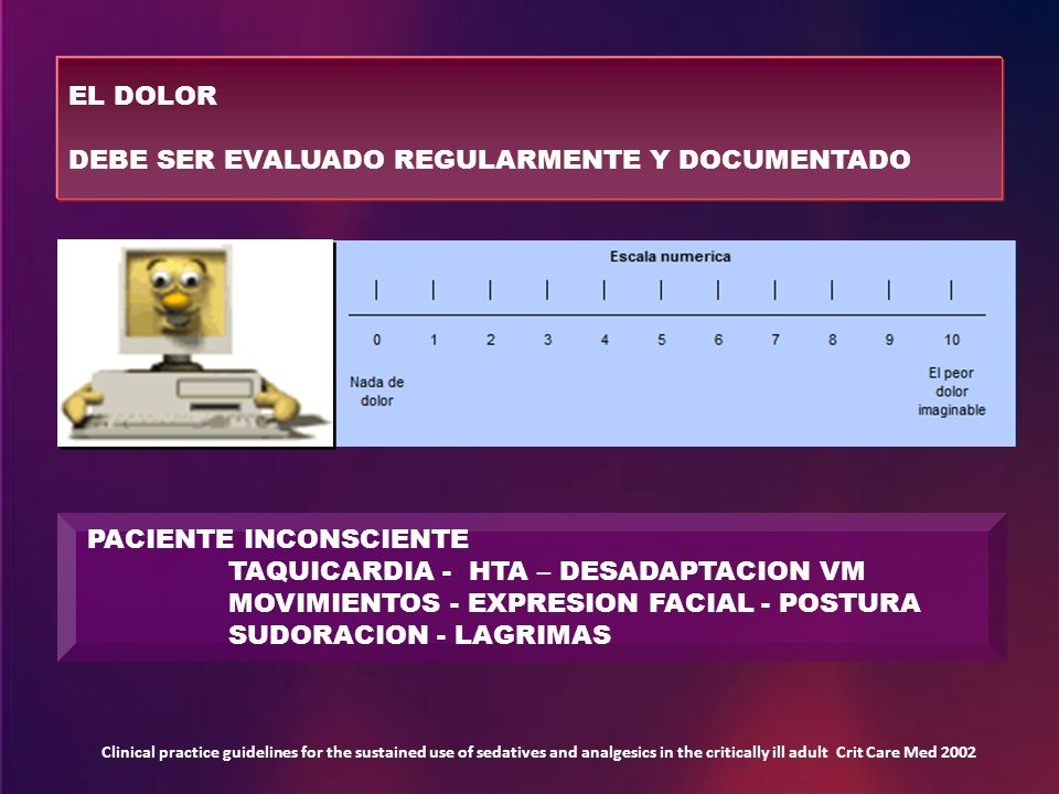 DEBE SER EVALUADO REGULARMENTE Y DOCUMENTADO