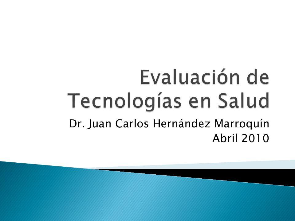 Evaluación de Tecnologías en Salud