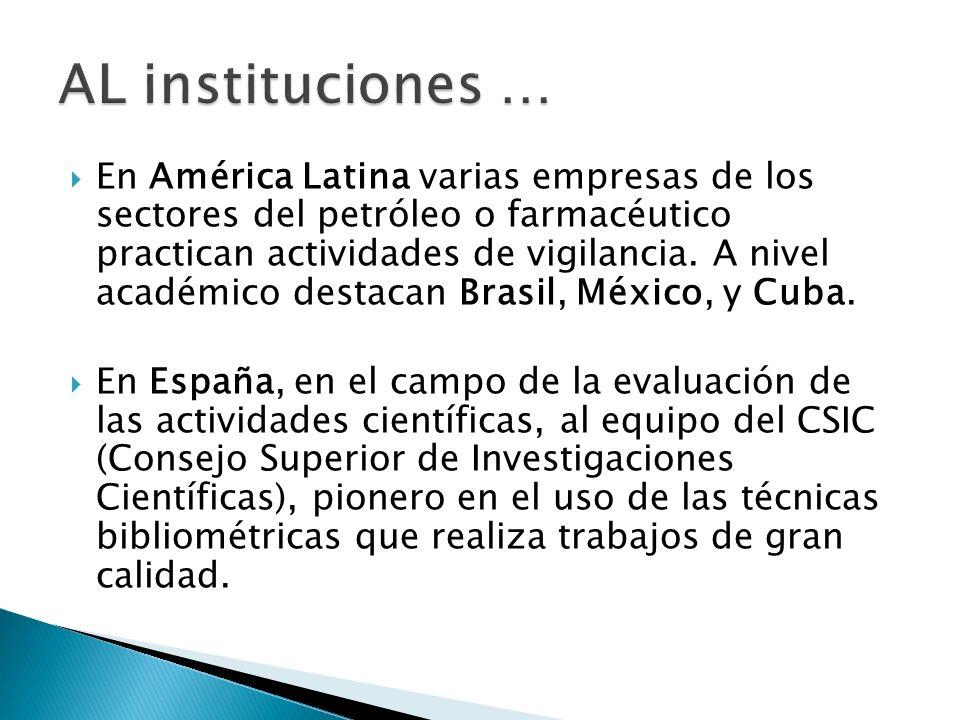 AL instituciones …