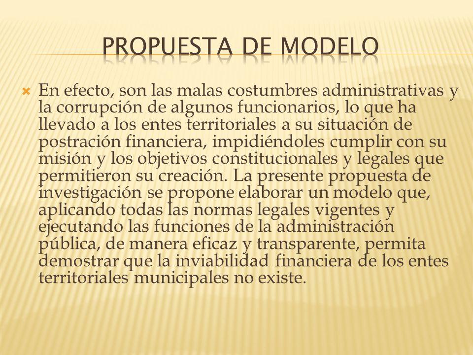 PROPUESTA DE MODELO