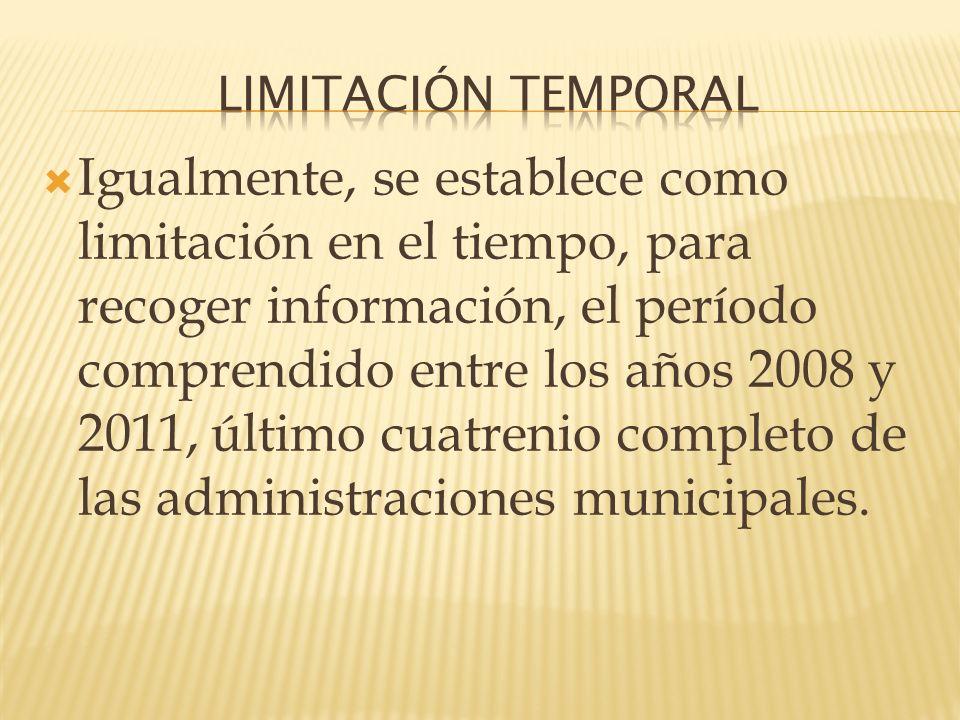 LIMITACIÓN TEMPORAL