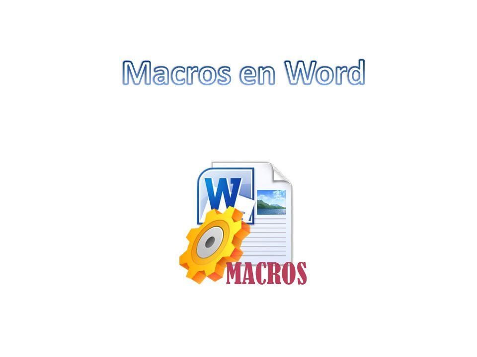 Macros en Word