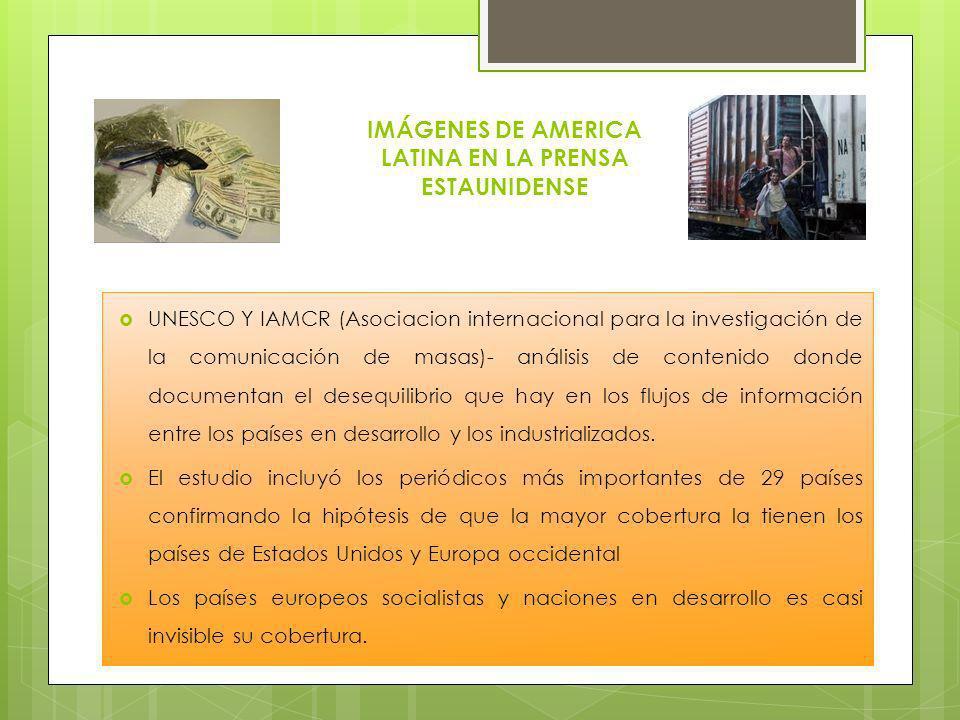 IMÁGENES DE AMERICA LATINA EN LA PRENSA ESTAUNIDENSE