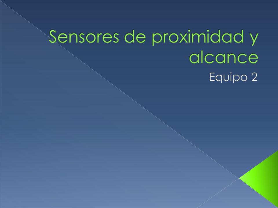 Sensores de proximidad y alcance