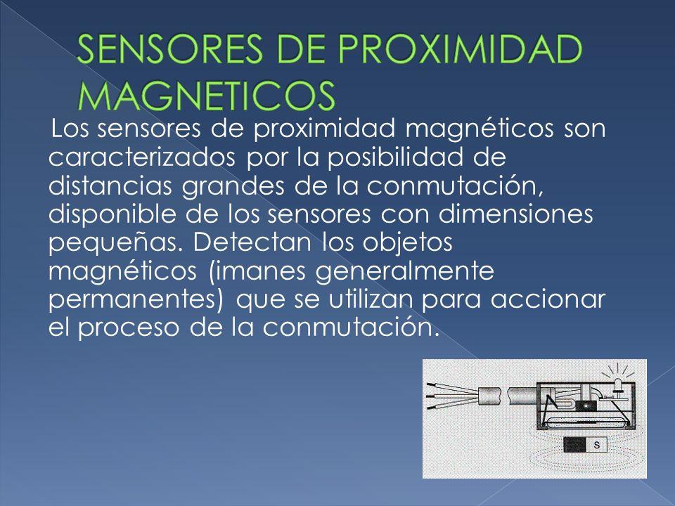 SENSORES DE PROXIMIDAD MAGNETICOS