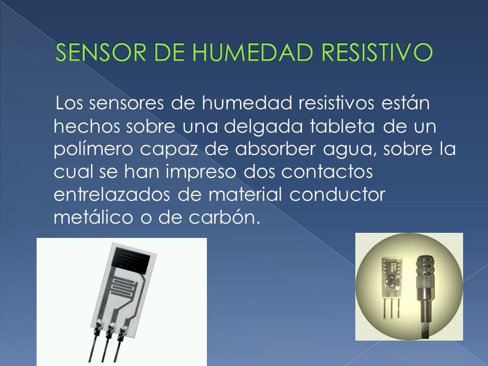 SENSOR DE HUMEDAD RESISTIVO