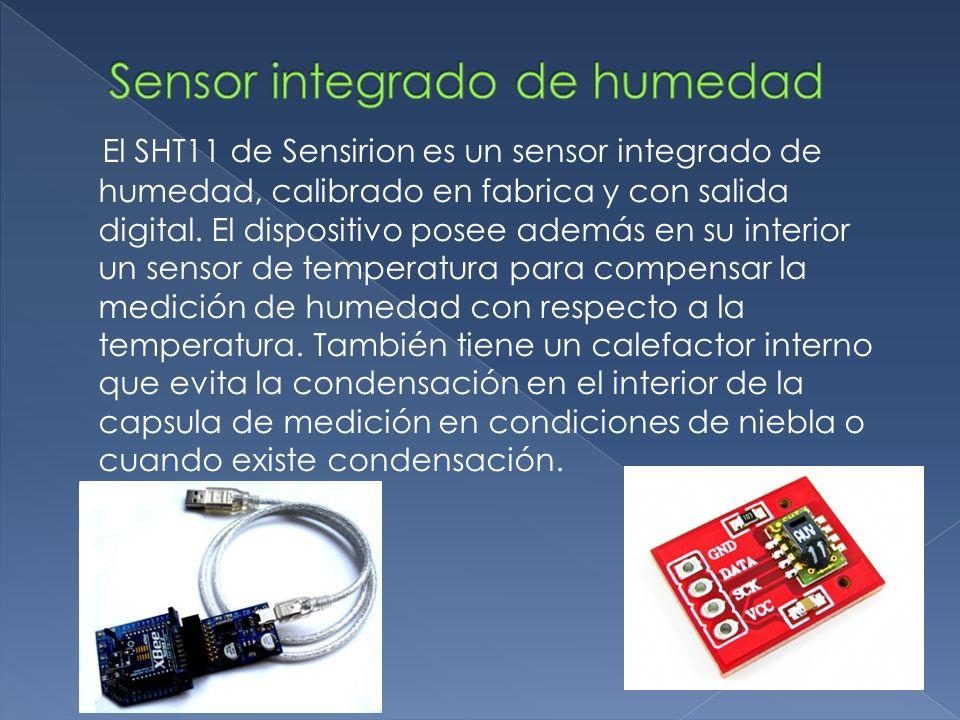 Sensor integrado de humedad