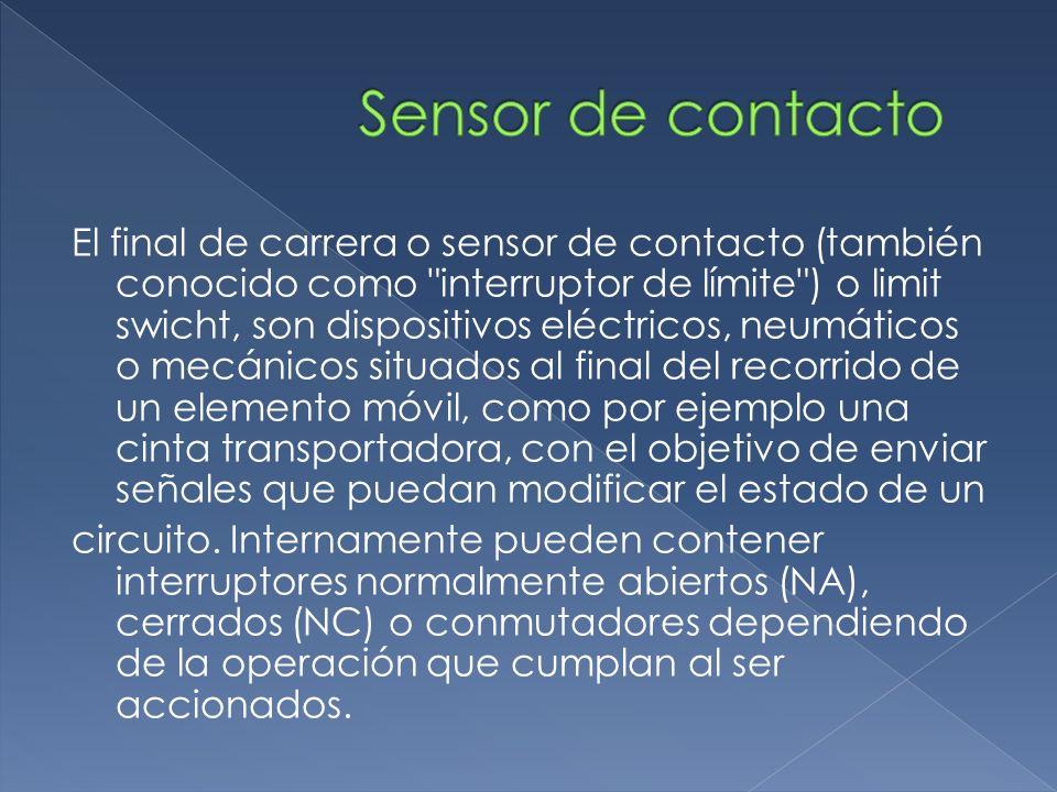 Sensor de contacto