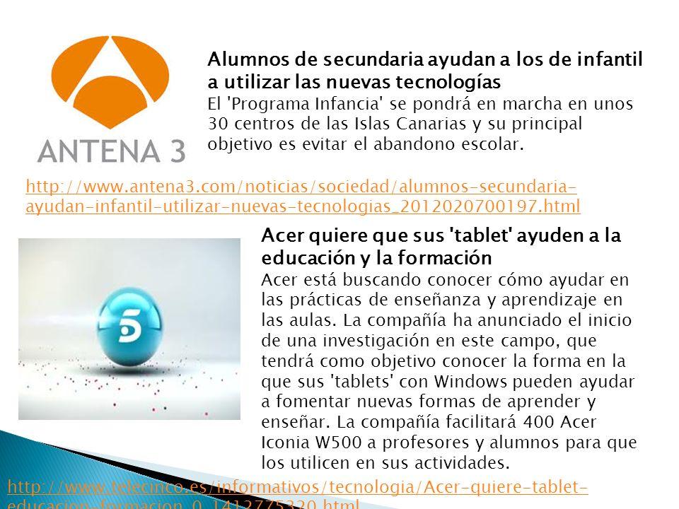 Acer quiere que sus tablet ayuden a la educación y la formación