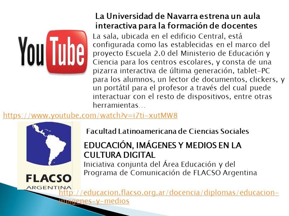 EDUCACIÓN, IMÁGENES Y MEDIOS EN LA CULTURA DIGITAL