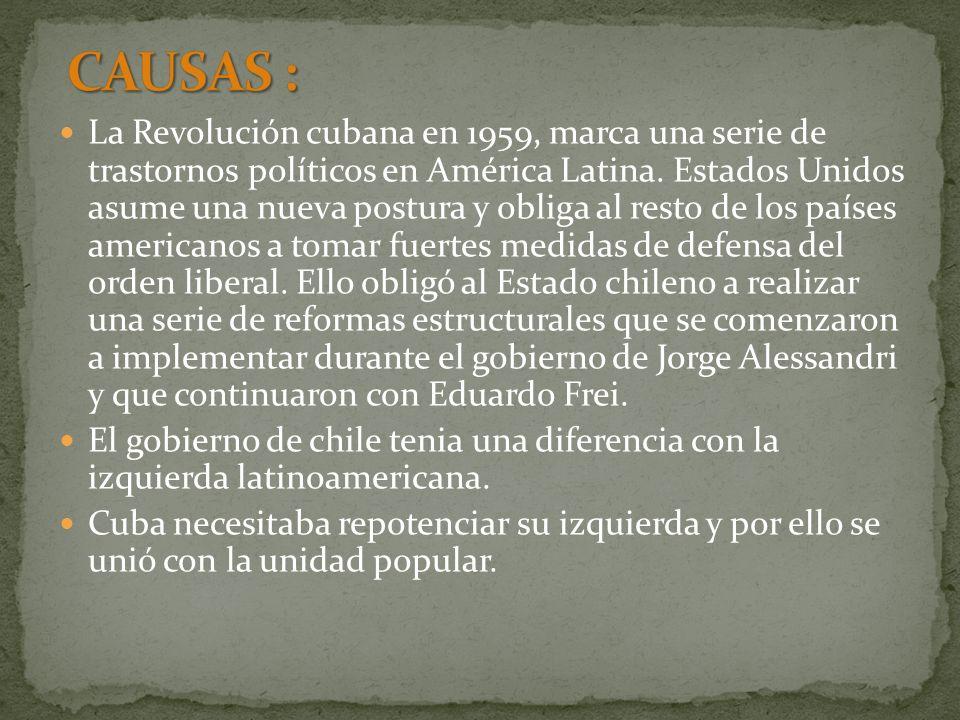 CAUSAS :