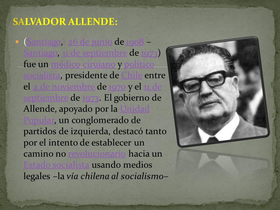 SALVADOR ALLENDE: