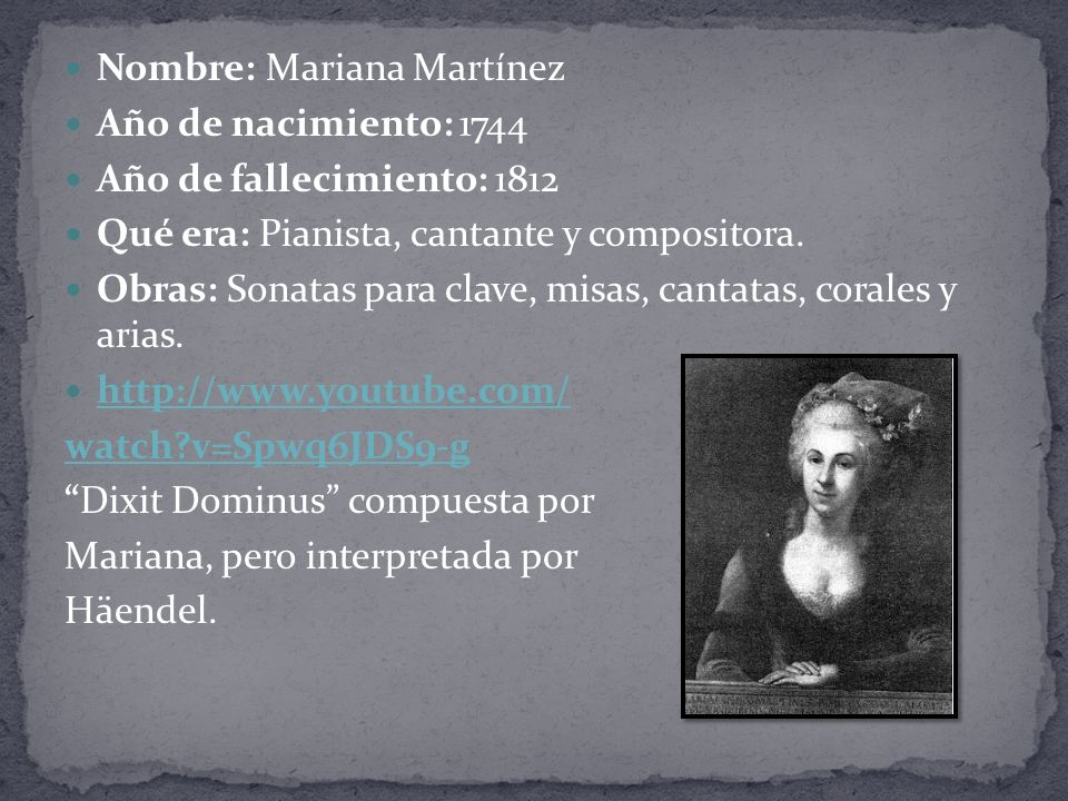 Nombre: Mariana Martínez