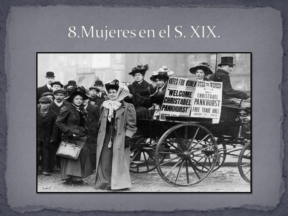 8.Mujeres en el S. XIX.