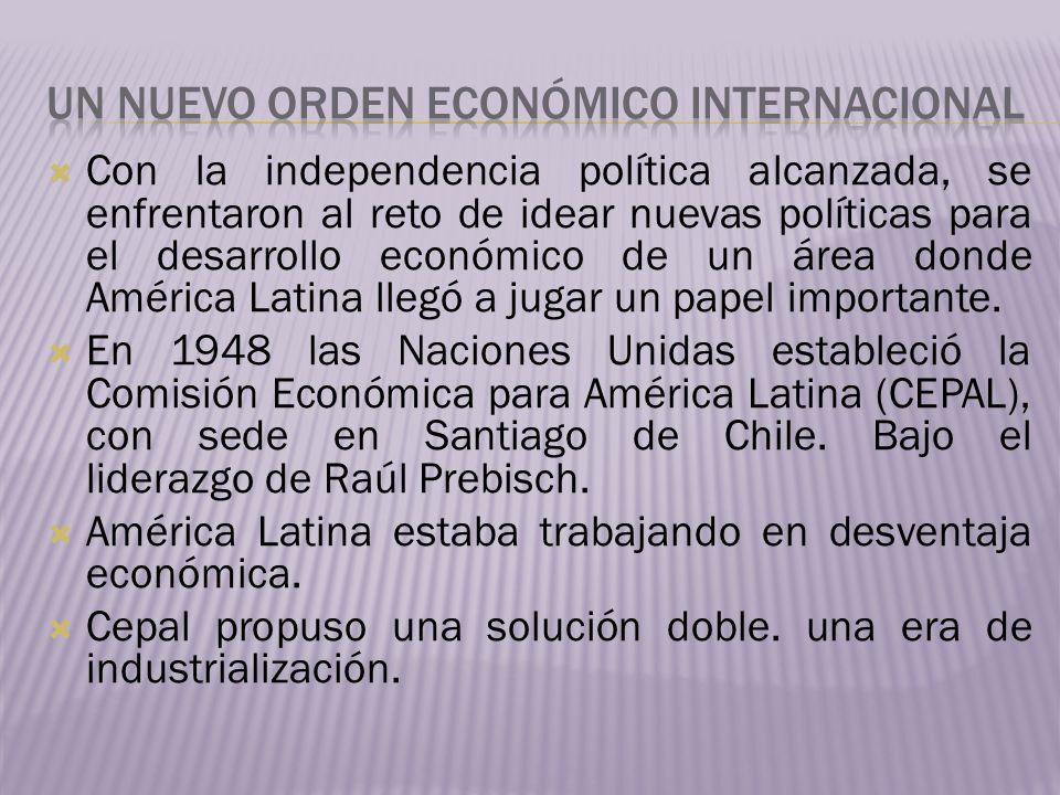 Un nuevo orden económico internacional