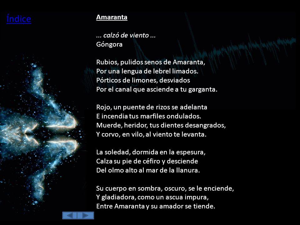 Índice Amaranta.
