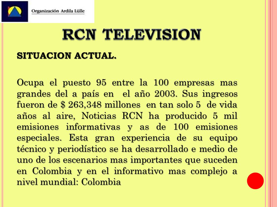 RCN TELEVISION