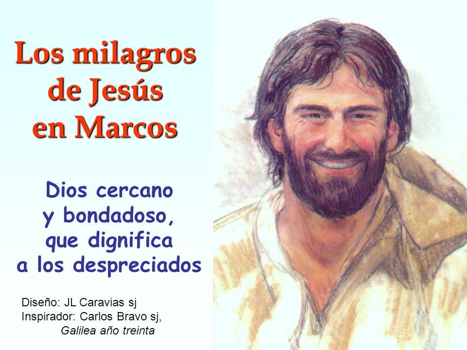 Los milagros de Jesús en Marcos Dios cercano y bondadoso,