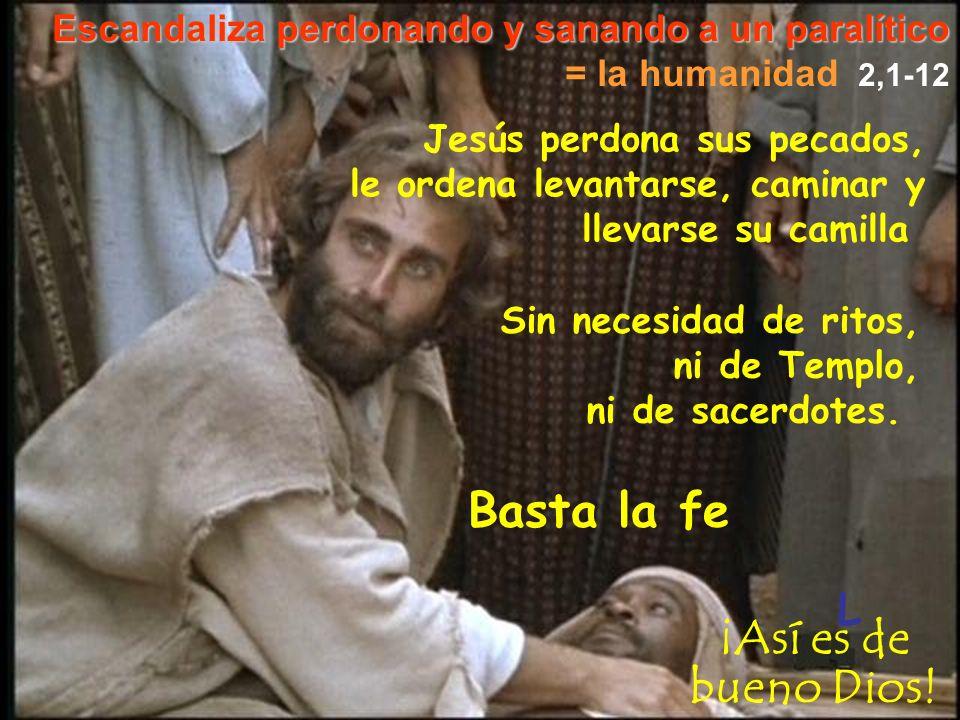 Basta la fe ¡Así es de bueno Dios! L