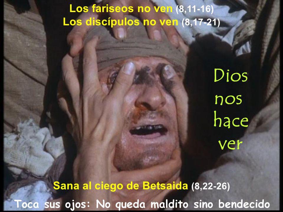 Dios nos hace ver Los fariseos no ven (8,11-16)