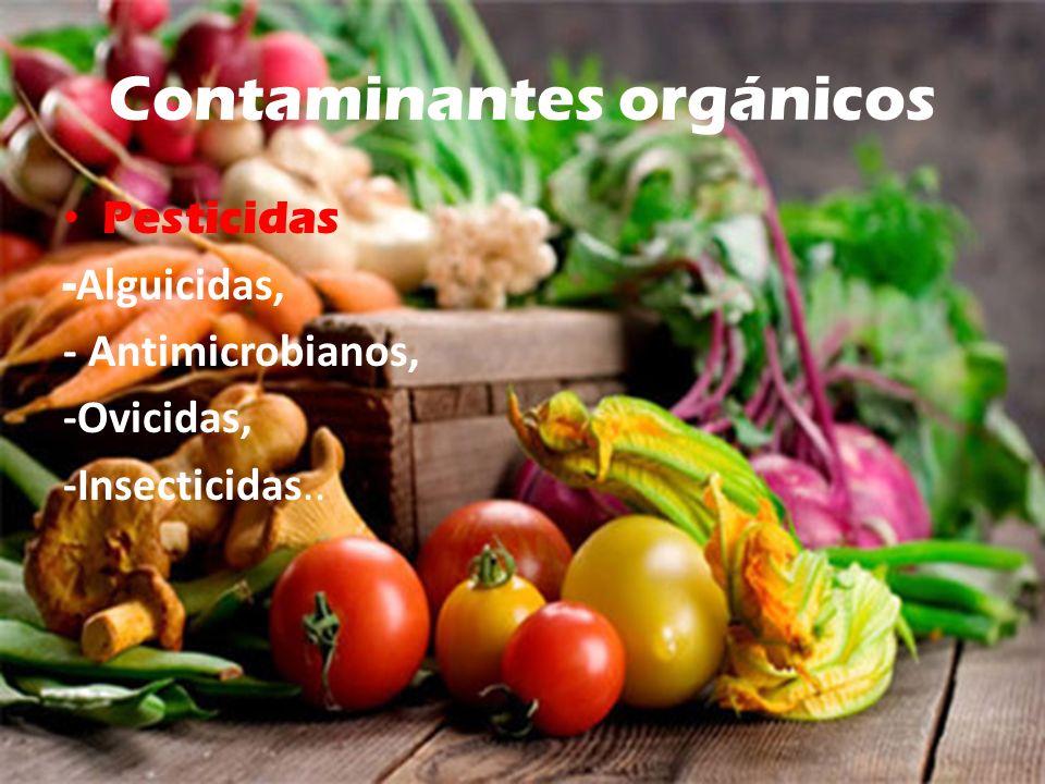 Contaminantes orgánicos