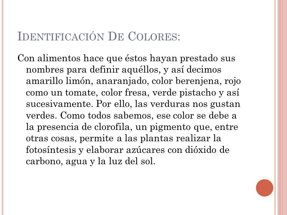 Identificación De Colores: