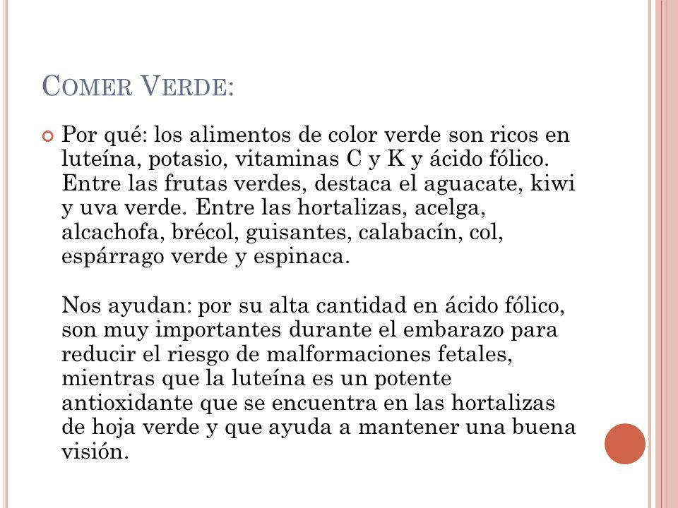 Comer Verde: