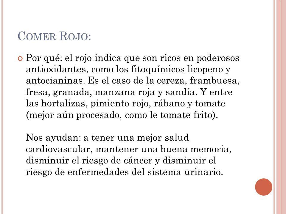 Comer Rojo: