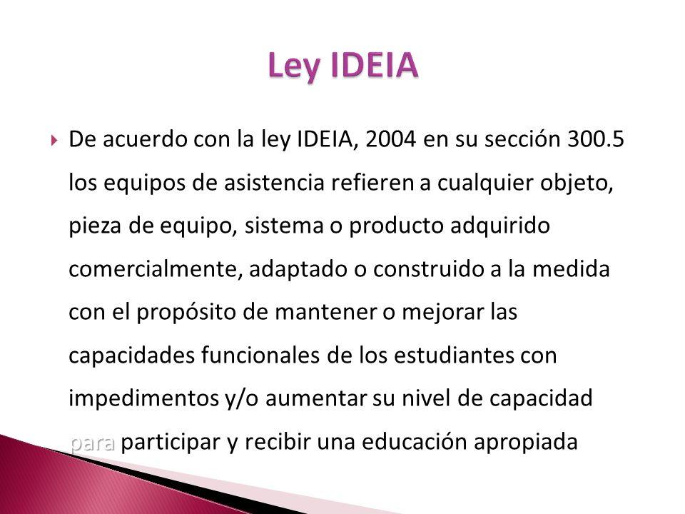 Ley IDEIA