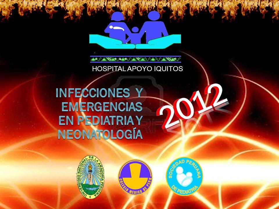 2012 2012 INFECCIONES Y EMERGENCIAS en PEDIATRIA Y neonatología
