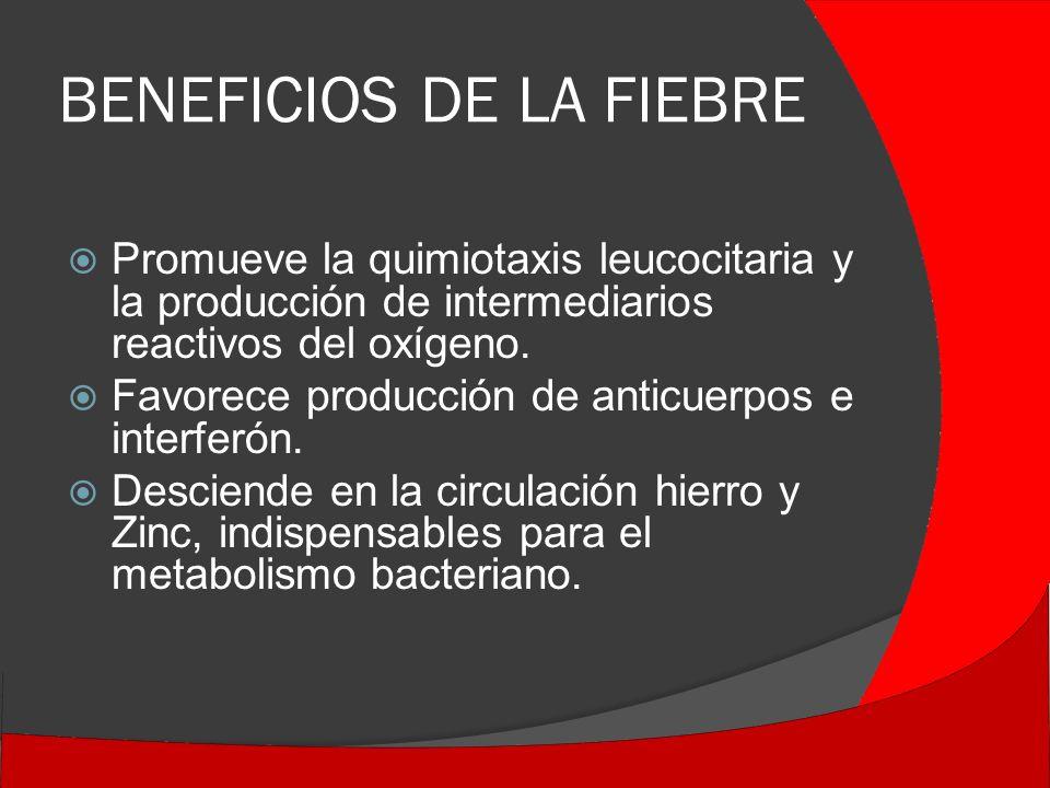 BENEFICIOS DE LA FIEBRE