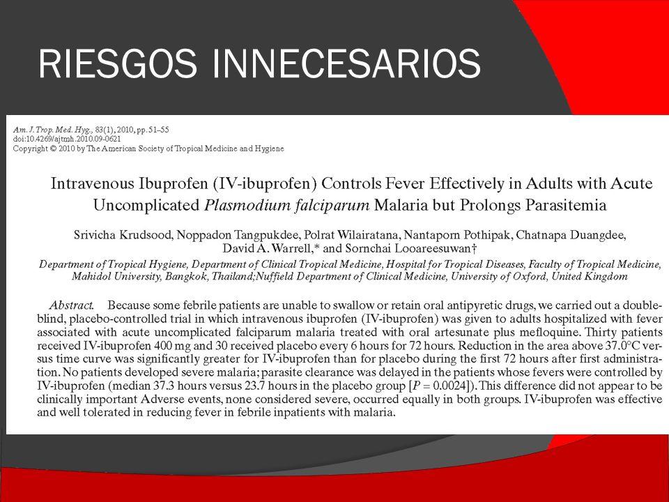 RIESGOS INNECESARIOS