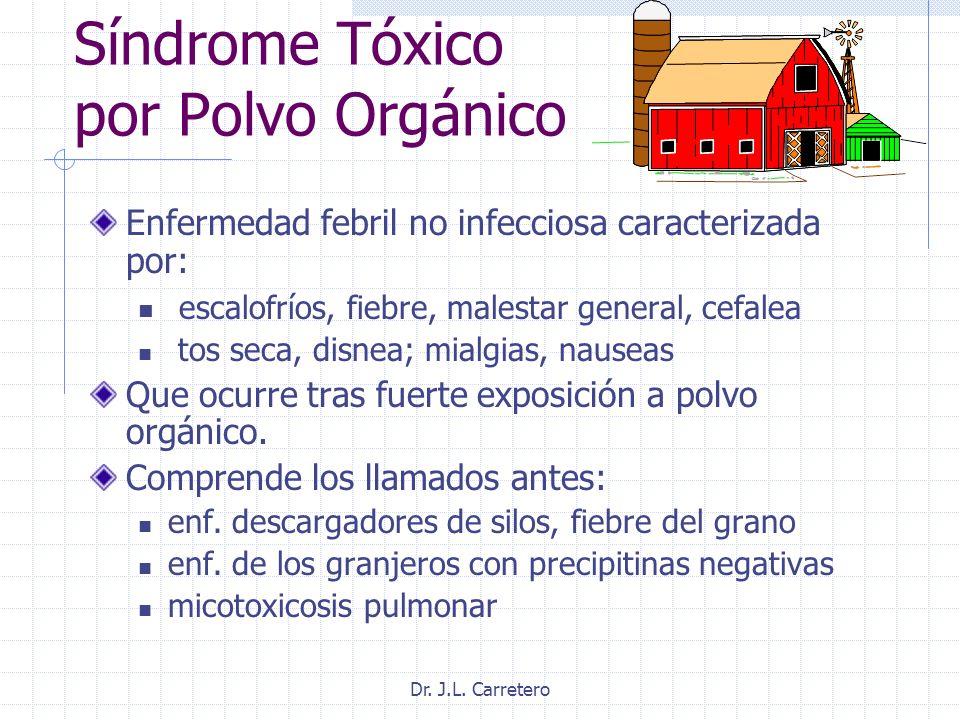 Síndrome Tóxico por Polvo Orgánico