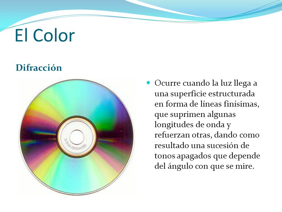 El Color Difracción.