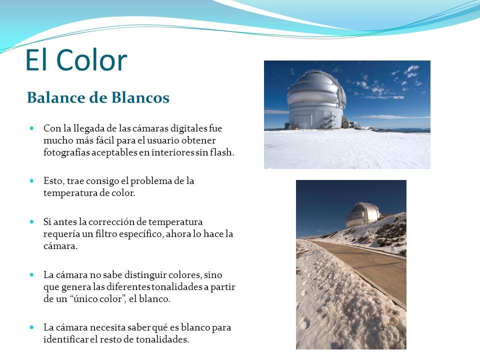 El Color Balance de Blancos