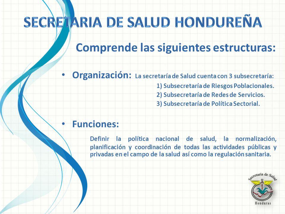 Secretaria de salud hondureña